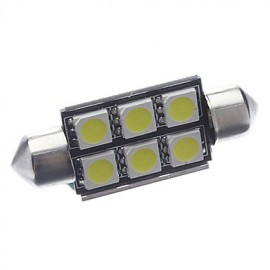 LED auto žiarovka C5W 6 SMD 36mm