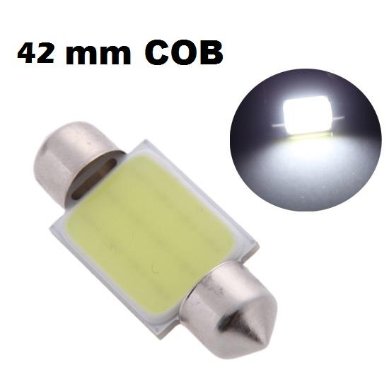 LED auto žiarovka C5W 6 SMD 42mm COB