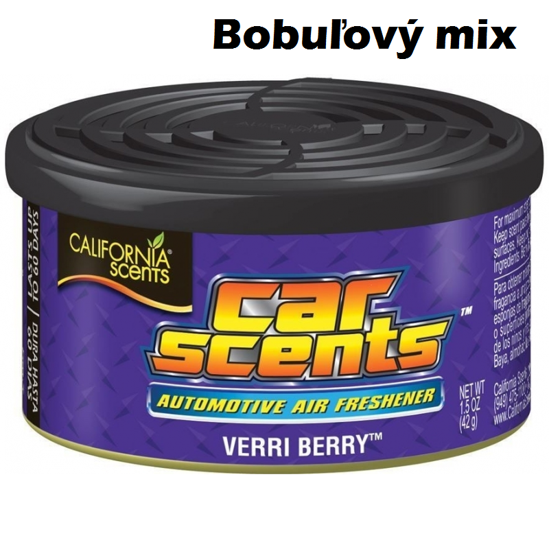 CALIFORNIA SCENTS Bobuľový mix