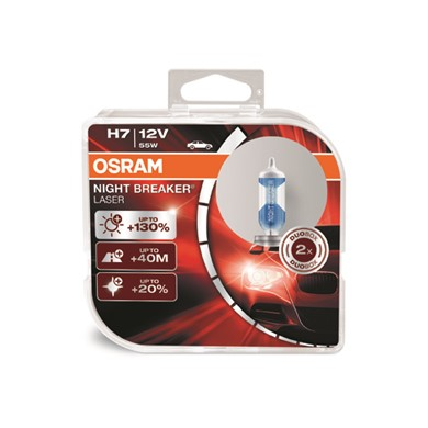 OSRAM NIGHT BREAKER® LASER H7 Duo Box