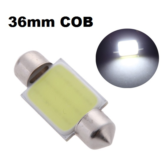 LED auto žiarovka C5W 6 SMD 36mm COB